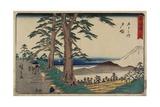 No.6 Totsuka, 1847-1852 Giclee Print by Utagawa Hiroshige