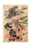 Daimyo No Okuzashiki Giclee Print by Utagawa Toyohiro