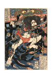 Rori Hakucho Chojun Giclee Print by Utagawa Kuniyoshi