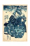 Ogiya Uchi Hanaogi Giclee Print by Utagawa Kuniyoshi