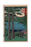Shimotsuke Chuzenji Kosui Giclee Print by Utagawa Hiroshige