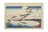 Moonlight at Takanawa, C. 1831 Giclee Print by Utagawa Hiroshige