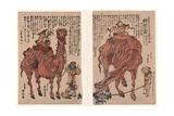 Rakuda No Zu Giclee Print by Utagawa Kuniyasu