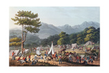 Troops Bivouacked Near Villa Velha, Engraved by C. Turner, 19th May 1811 Giclee Print by Thomas Staunton St. Clair
