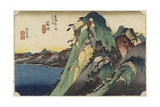 View of the Lake, Hakone, C. 1833 Giclee Print by Utagawa Hiroshige