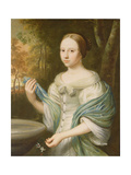 Portrait of a Lady, 1671 Giclee Print by Wallerant Vaillant