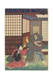 Scene from an Unidentified Play, 1830-1844 Giclee Print by Utagawa Kunisada