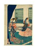 Yokohama No Yokan No Yujo Giclee Print by Utagawa Sadahide