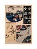 Nihonbashi Sinagawa Kawasaki Giclee Print by Utagawa Hiroshige
