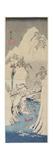 Snow Scene by the Fuji River, C. 1842 Giclee Print by Utagawa Hiroshige
