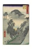 No.22 Mount Utsu, Okabe, July 1855 Giclee Print by Utagawa Hiroshige