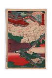Yamato Hasedera Giclee Print by Utagawa Hiroshige