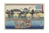 Ogura-An at Koume in Honjo, C. 1835-1842 Giclee Print by Utagawa Hiroshige