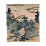 Fuji No Yukei Giclee Print by Utagawa Kuniyoshi
