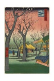 Plum Garden in Kamata, February 1857 Giclee Print by Utagawa Hiroshige