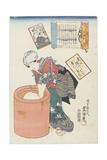 No. 20 Prince Motoyoshi, 1843-1847 Giclee Print by Utagawa Kunisada II