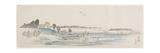 Sunset Hill, 1837-1844 Giclee Print by Utagawa Hiroshige