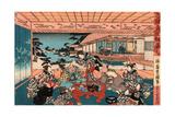 Dai Shichi Giclee Print by Utagawa Toyokuni