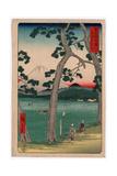 Tokaido Hidarifuji Giclee Print by Utagawa Hiroshige