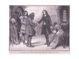 Sir Henry Vane Taking Leave of His Wife and Friends Giclee Print by Walter Stanley Paget
