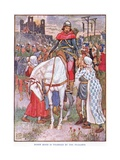 Robin Hood the Friend of the Peasants, C.1920 Giclee Print by Walter Crane