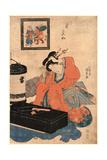 Nenrei Giclee Print by Utagawa Toyokuni