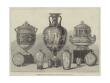 Porcelain at the International Exhibition, by Minton and Company Giclee Print by Walter Wilson