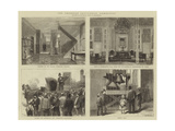 The American Centennial Exhibition Giclee Print by Walter Jenks Morgan