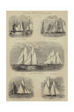 The Royal Thames Yacht Club Race Giclee Print by Walter William May