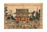 Ukie Kinryuzan Ichi No Zu Giclee Print by Utagawa Toyokuni