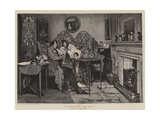 A Cure for the Gout Giclee Print by Walter Dendy Sadler