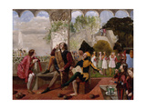 Twelfth Night, Act II, Scene IV Giclee Print by Walter Howell Deverell