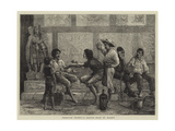 Venetian Idlers, a Sketch Near St Mark's Giclee Print by Walter Jenks Morgan