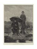 Great Expectations, from the Exhibition of the Society of British Artists Giclee Print by Walter Dendy Sadler