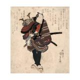 Shichidaime Ichikawa Danjuro Giclee Print by Utagawa Toyokuni