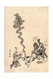 Tobae Mitate Ryugen Sennin Giclee Print by Utagawa Toyohiro