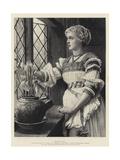 Mariana Giclee Print by Valentine Cameron Prinsep