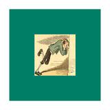 Schnaken and Schnurren Giclee Print by Wilhelm Busch