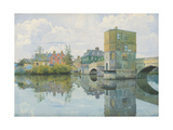 The Bridge at St, 1903 Giclee Print by William Fraser Garden