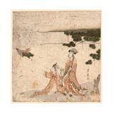 Saru No Ikigimo Giclee Print by Utagawa Toyohiro