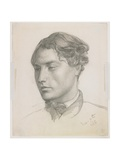 Portrait of a Young Man, 1860 Giclee Print by Valentine Cameron Prinsep