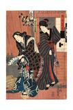 Unohana Zuki Giclee Print by Utagawa Toyokuni