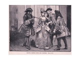 Making Friends with Mrs Marsham Ad 1710 Giclee Print by Walter Stanley Paget