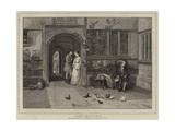 Pleading the Old Cause Giclee Print by William Frederick Yeames