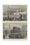 The Funeral of Count Moltke Giclee Print by  Warry