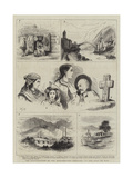 The Insurrection in the Herzegovina, Sketches at the Seat of War Giclee Print by Walter Jenks Morgan