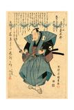 Sandaime Onoe Kikugoro No Oboshi Yuranosuke Giclee Print by Utagawa Toyokuni