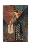 Andon Giclee Print by Utagawa Toyokuni