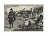 An Algerine Story-Teller Giclee Print by Walter Jenks Morgan