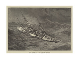 HMS Urgent in a Gale in the Bay of Biscay Giclee Print by Walter William May